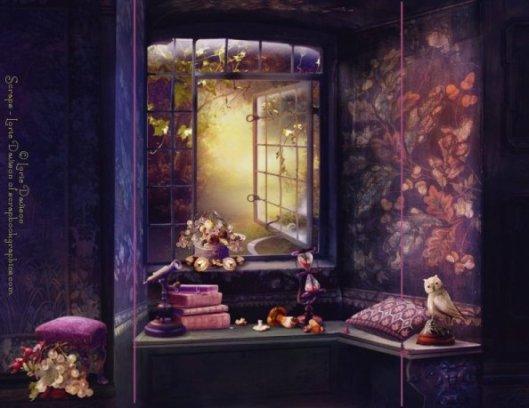 Red Oak Manor Interior Example