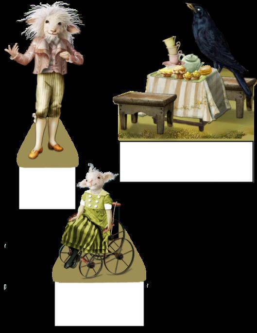 Poppy-Ram, Lili-Lamb and Casey