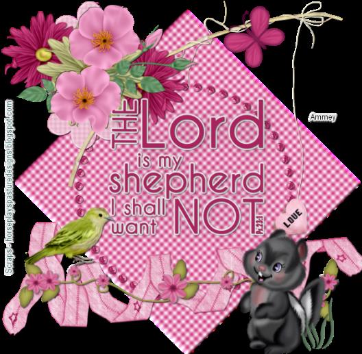 HPD The ord is my Shepherd